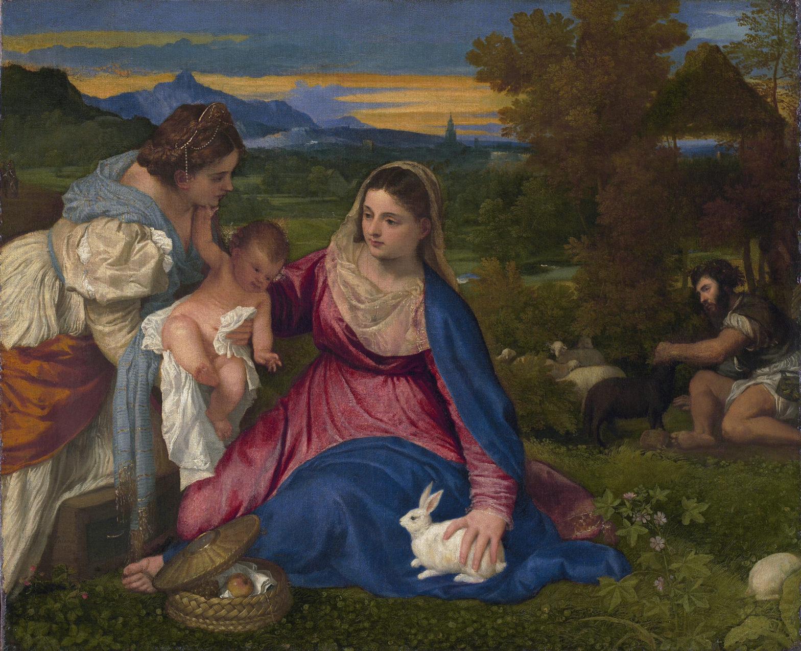 Vierge au Lapin